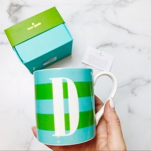 """kate spade Kitchen - Kate Spade Lenox """"What's in a Name"""" Letter 'D' Mug"""